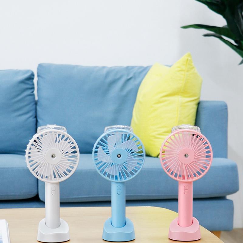 HOT Portable Usb Fan Cooler Small Cooling Fan Desk Pocket Water Mist Fan Cooling Air Humidifier in Fans from Home Appliances