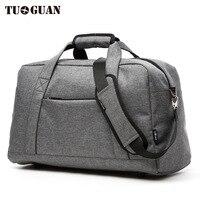 TUGUAN Travel Bag Men Casual Portable Luggage Bag Big Capacity High Quality Handbag Travel Duffle