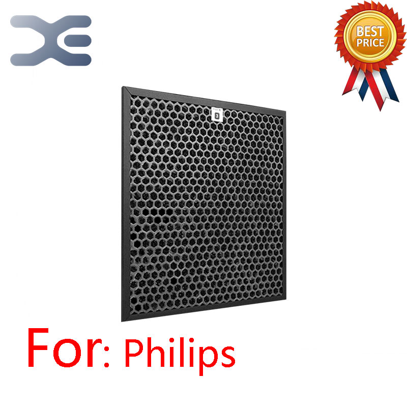 Adaptation For Philips Air Purifier Filter Activated Carbon HEPA Filter AC4123 For AC4002 Air Purifier Parts цена 2017
