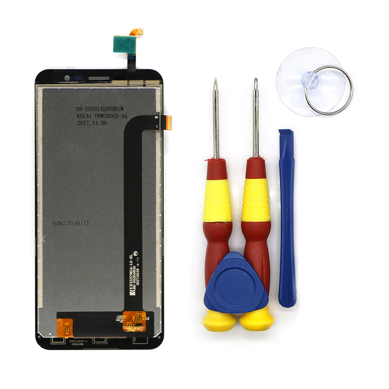 New Original LCD Display Touch Screen For HOMTOM S16 Replacement Parts + Disassemble Tool+3MNew Original LCD Display Touch Screen For HOMTOM S16 Replacement Parts + Disassemble Tool+3M