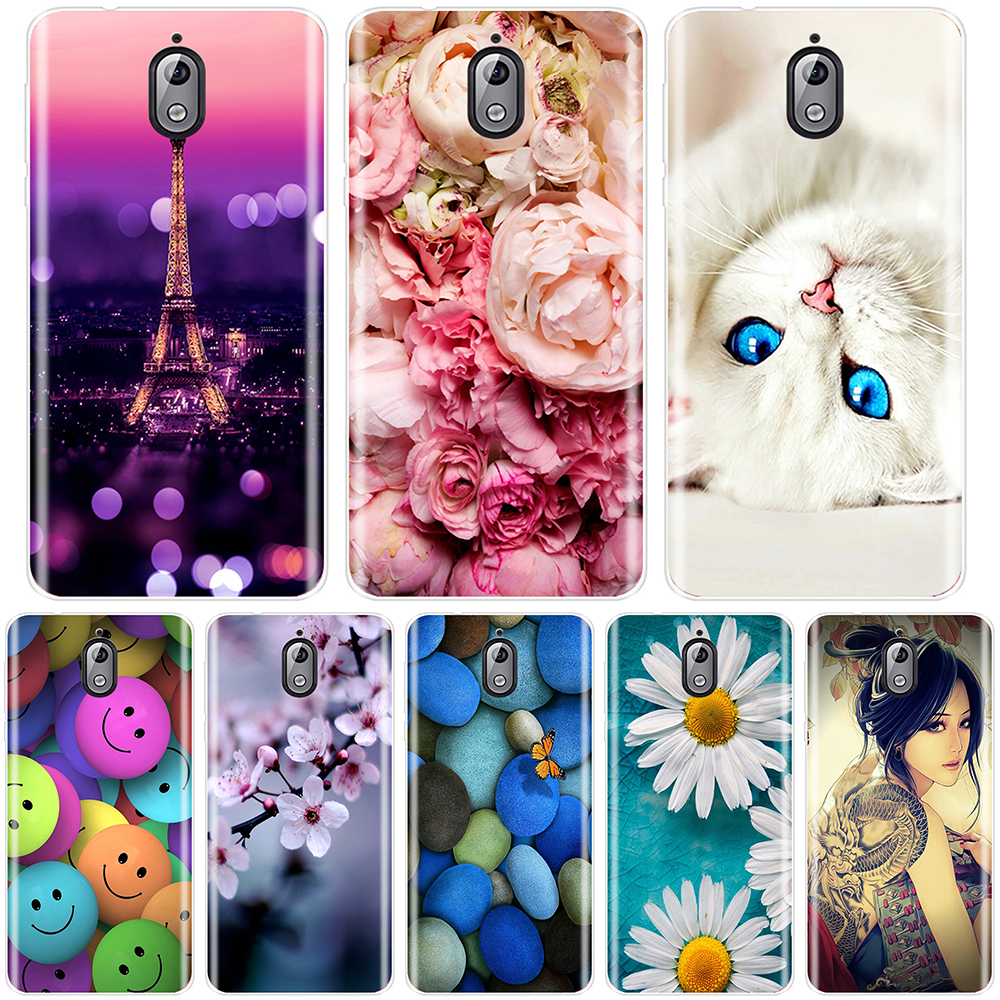 Fashion Printed Phone Case For <font><b>Nokia</b></font> <font><b>7.1</b></font> 6.1 5.1 3.1 2.1 Case Soft Silicone For <font><b>Nokia</b></font> <font><b>7.1</b></font> 6.1 5.1 3.1 2.1 Plus Back Cover image