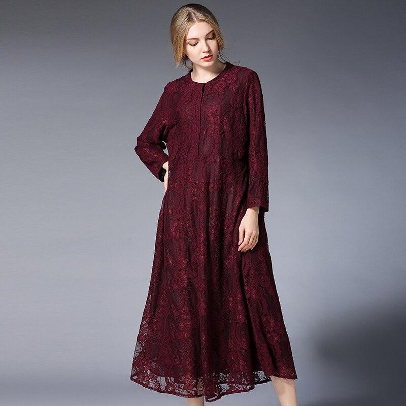 ce1fbb0d3dc 2018 Winter Maternity Dress Plus Size Christmas Pregnancy Dresses Elegant  Evening Dress Long Sleeve Maxi Shoulder Lace Button