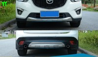 Auto front and rear skid plate skid bar for mazda cx 5 2012 2016,stainless steel ,2pcs/lot