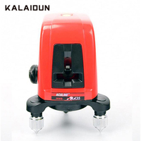 KALAIDUN Laser Level Mini Self leveling Cross Laser Vertical Line 360 Degree Small Red Laser 2 Line 1 Point With Brightening