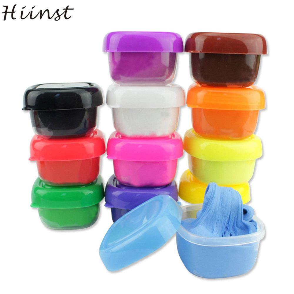 HIINST 12 Colors Floam Slime Scented Stress Relief No Borax Kids Toy Sludge Toys JAN15 P30 drop SHIPPING