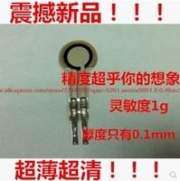 Slim and lightweight thin film pressure sensor sensitivity is far higher fsr resistive film pressure sensor 500g