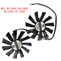 New Original Cooling Fan For MSI R9 290X R9 280X R9 270X R7 260X GAMING DC