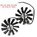 Novo e original ventilador de refrigeração para msi r9-280x r9-270x r7-260x r9-290x pld10010s12hh gaming laptop cooler ventilador de refrigeração de radiadores