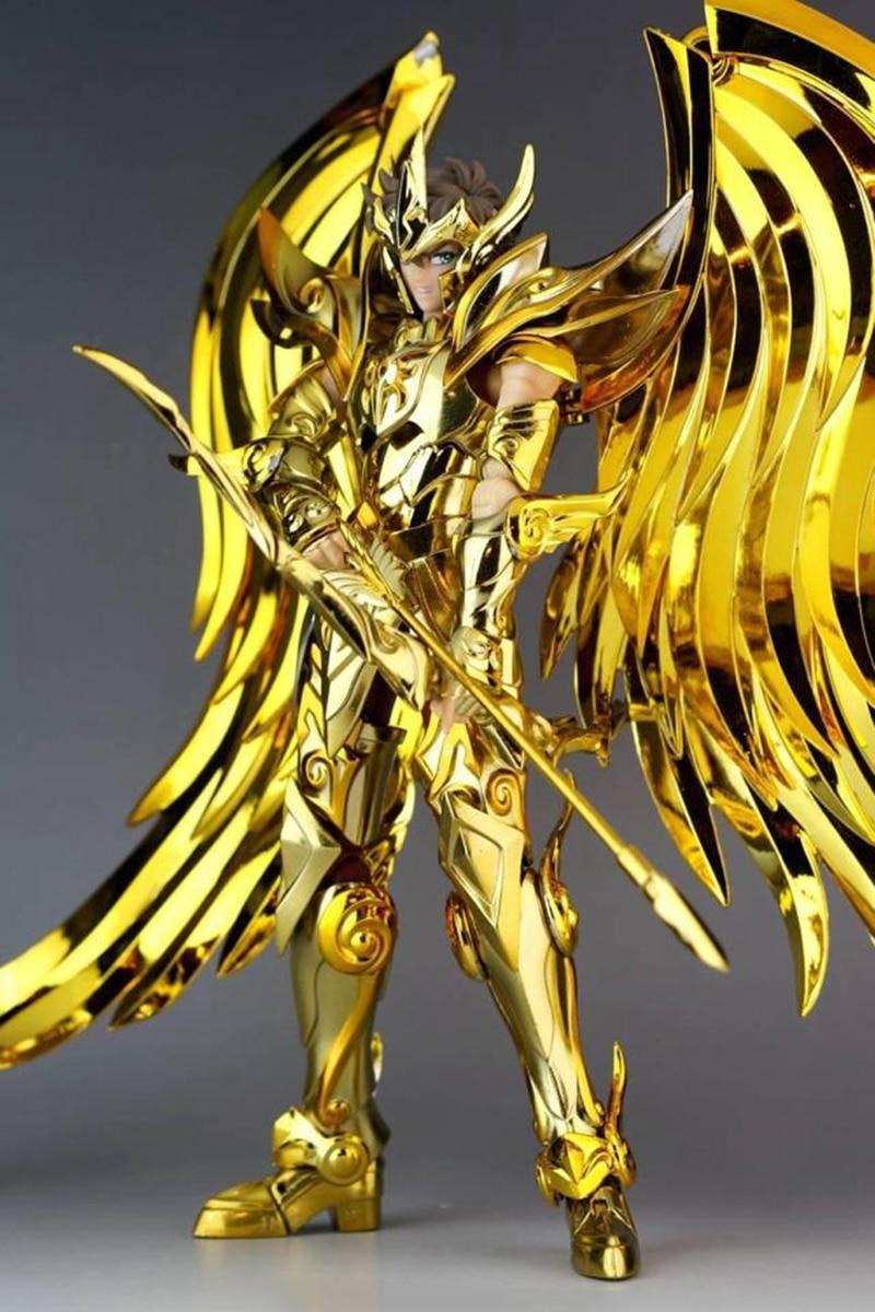 gold myth cloth model gt saint seiya ex sagittarius aiolos soul of gold sog metal armor toys. Black Bedroom Furniture Sets. Home Design Ideas