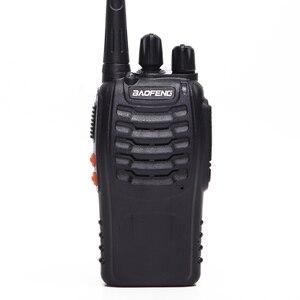 Image 3 - 2 STUKS Baofeng BF 888S Walkie Talkie bf 888 s 5 W Two way radio Draagbare CB Radio UHF 400  470 MHz 16CH Professionele Handige Radio