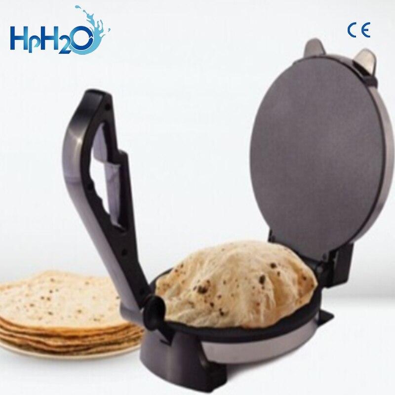 Machine de fabrication de roti Rotimatic roti de chapati antiadhésive de l'acier inoxydable 1200 W 8 pouces approuvée par CE - 4