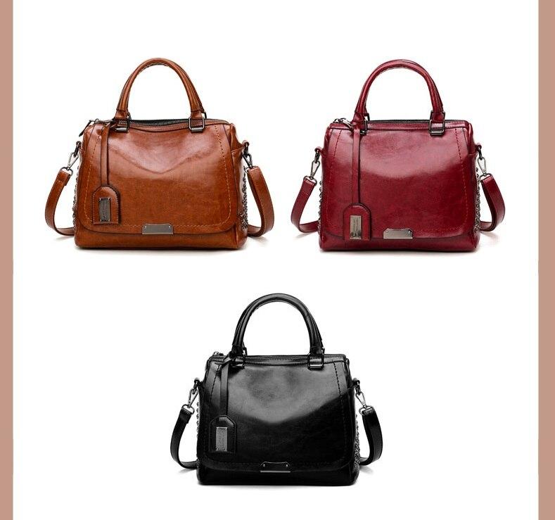 mulheres do vintage travesseiro bolsa de couro