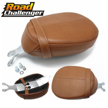 For Indian Scout Models 15-18 Scout Sixty 16-18 Leather Rear Passenger Pillion Seat