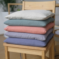 New Style Outdoor Chair Cushions Solid Color Square 40*40cm Seat Cushion Sofa Pillow for Birthday Party Decorations Adult