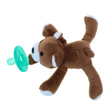 Helen115 Lovely Newborn Baby Kids Toy Dummy Nipple Soother Silicone Orthodontic Pacifier