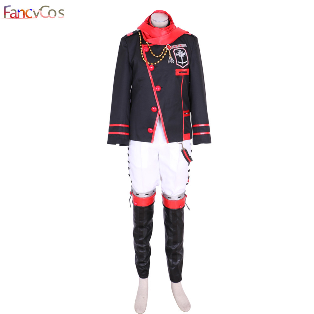 Halloween Men's D.Gray-man III Lavi Uniform 3rd Version Set Cosplay Costumes Adult Costume Movie High Quality