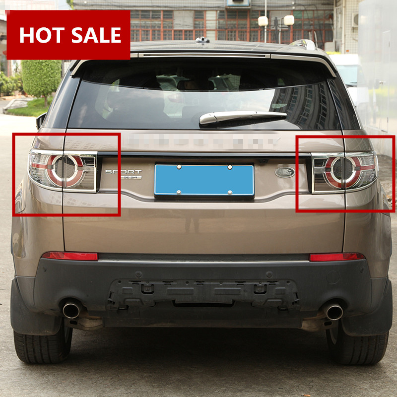 Abs Rear Tail Light Lamp Cover Trim For Land Rover