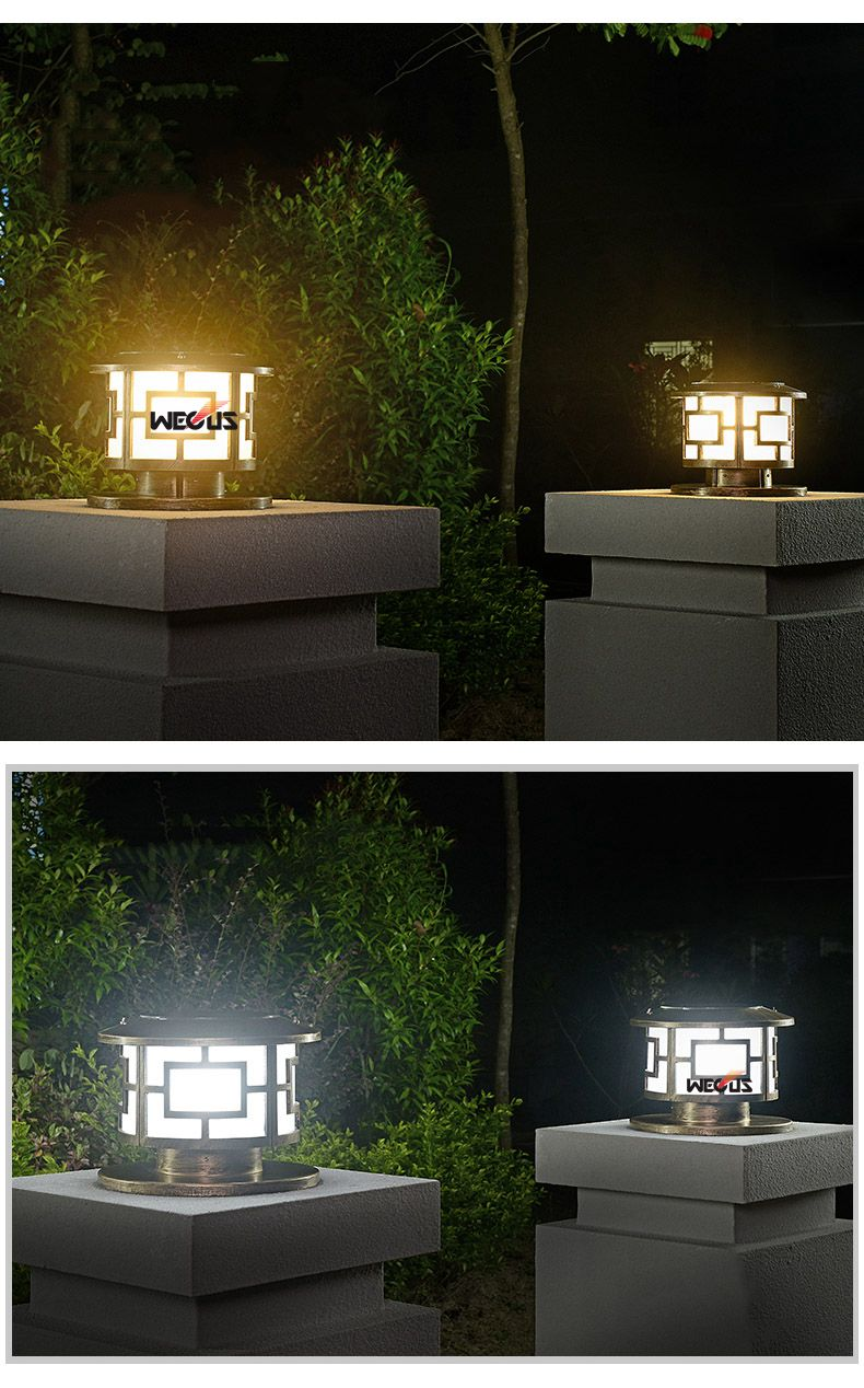 High Quality pillar light