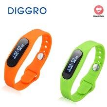 Diggro E06 здоровый браслет Водонепроницаемый шагомер Фитнес трекер для Android и iOS Смарт часы Bluetooth 4.0 Спорт браслет