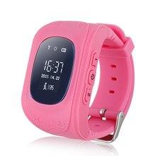 Q50 smart watch kid safe gps reloj localizador del buscador del perseguidor sos de llamada para el cabrito del niño perdido anti del bebé regalo