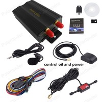New arrival Vehicle Car GPS Tracker TK103A Real-time tracking Google Map Link Free shipping
