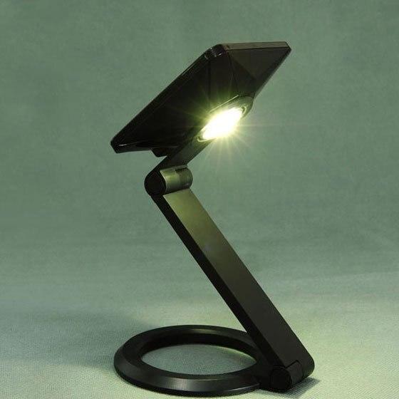 Solar Panel Sunlight Powered Desk Light Mobile Phone