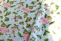 Multi colored Venice Lace Fabric Off White Antique Crocheted Floral Lace Bridal Gown Dress Fabric