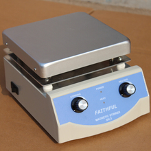 SH-3 Laboratory Magnetic Heating Stirrer, 17x17cm Aluminium Panel, 0~1600RPM, 5L Volume, DHL Free Shipping!