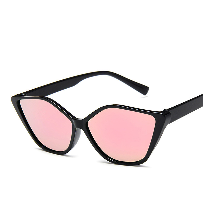 Summer CatEye Lip Shape <font><b>Cute</b></font> <font><b>Sexy</b></font> <font><b>Retro</b></font> <font><b>Cat</b></font> <font><b>Eye</b></font> <font><b>Sunglasses</b></font> Women Reflective Mercury Glasses Vintage Sun Glasses Oculos De Sol image