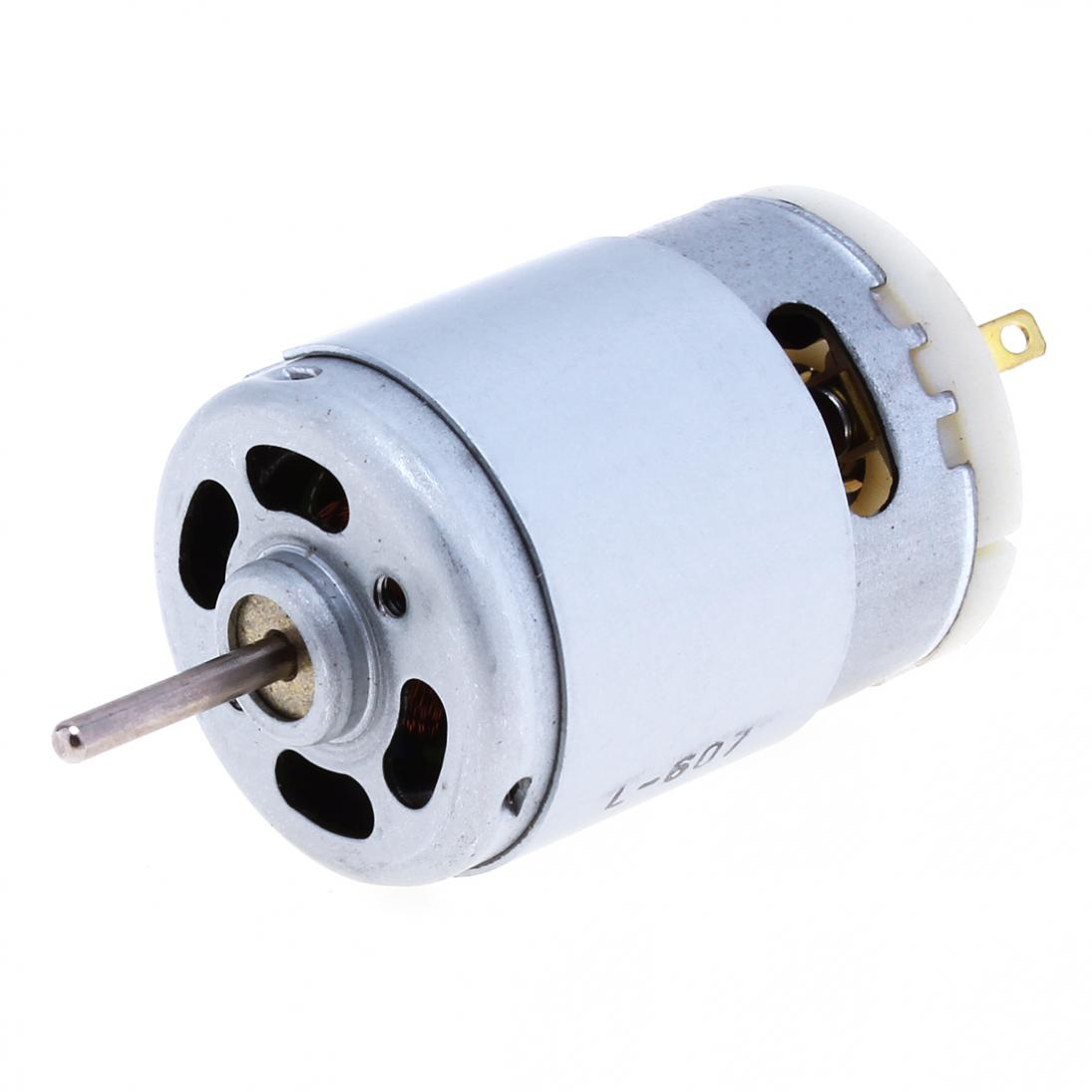 380 DC Motor High Speed Motor and Large Torque Motor Fits for DIY Technology Small Production / Car Model Accessories