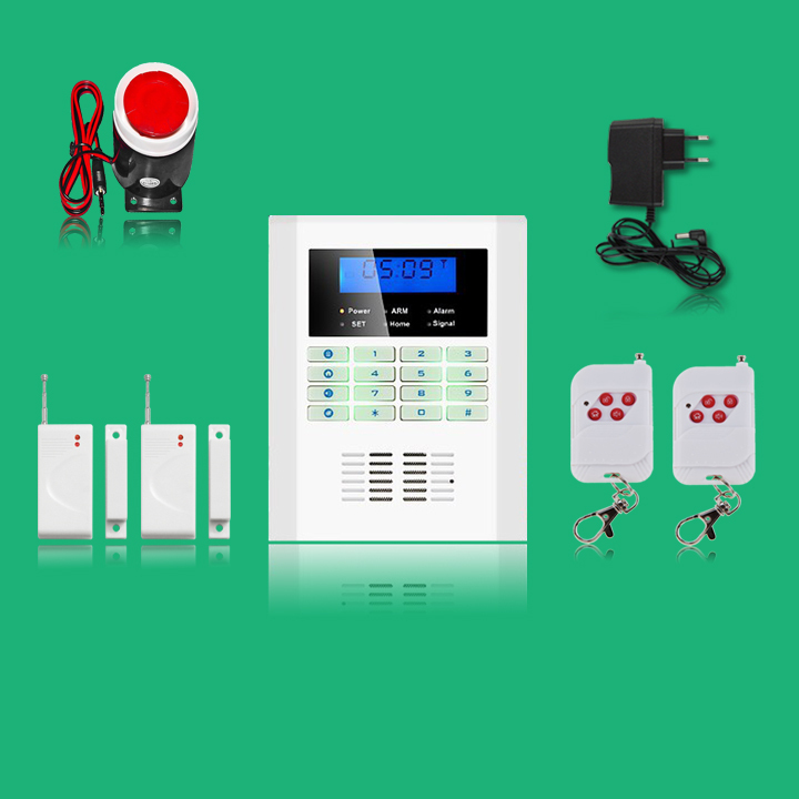 LCD screen PSTN+ GSM alarm system home security GSM alarm system Quad-band GSM alarm panel with russion/english voice yobang security touch lcd screen pstn sms alarm system home security gsm alarm system quad band wireless alarm panel