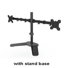 MS01 Desktop Stand Full Motion 360 Degree Dual Monitor Holder 10″-27″LCD LED Monitor Mount Arm Loading 9.9kgs Each Head