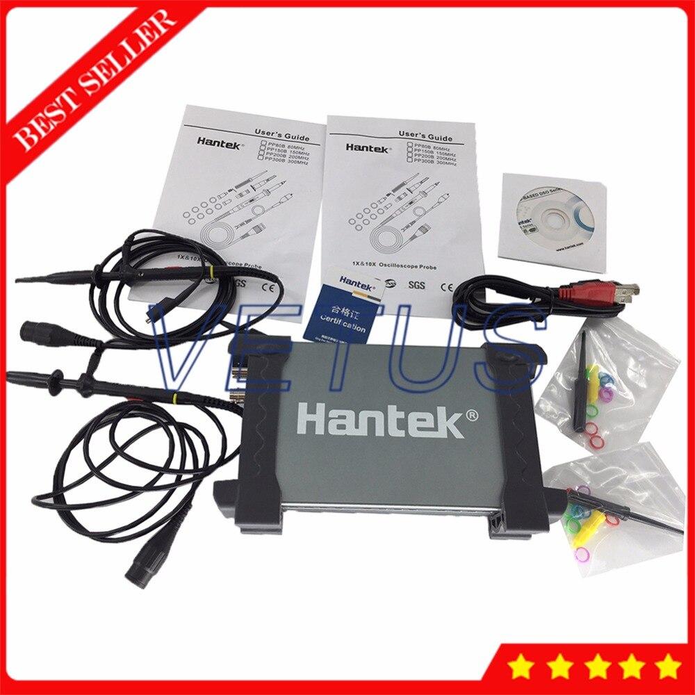 Hantek6022BE PC USB osciloscopio 2 Channel 20MHz portable oscilloscopeHantek6022BE PC USB osciloscopio 2 Channel 20MHz portable oscilloscope