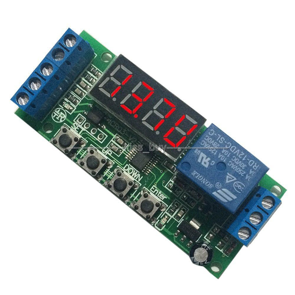 Dc 12v Automatic Battery Charger Charging Controller Protection Related Circuits Car Lead Acid Circuit Board Led Display Digital For In Integrated From Electronic Components