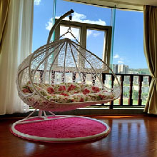 Marvelous Cheap Double Rattan Wicker Chair Swing Hanging Rocking Adult Basket Casual Sofa  Bed Dormitory Balcony