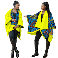 New autumn danshiki womens tops 100% Cotton printed jacket be worn on both sides with long sleeves african clothing WY3587