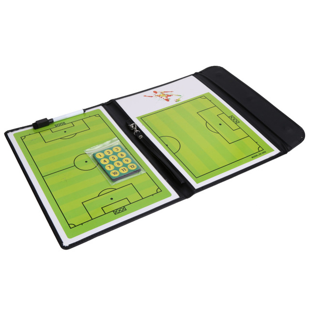 734666108 Professional Magnetic Football Soccer Coaching Dry Erase Clipboard Tactical  Board Tactical Plate book Kits Coaching Equipment