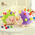 Porcupine plush toys, colorful cute little hedgehog doll doll, creative pillow, gifts for children to accompany sleep baby room