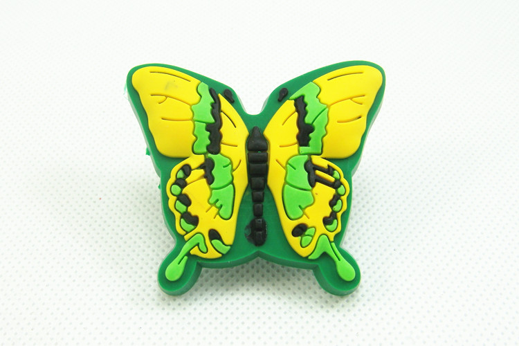 Leuke Kinderkamer Kast : Leuke groene vlinder lade knoppen kinderkamer kast trekken handvat