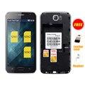 SERVO S6 4.6 дюймов Три СИМ-Карты мобильного телефона 3 СИМ-карты телефон WI-FI Bluetooth Разблокирована сотовый телефон P092