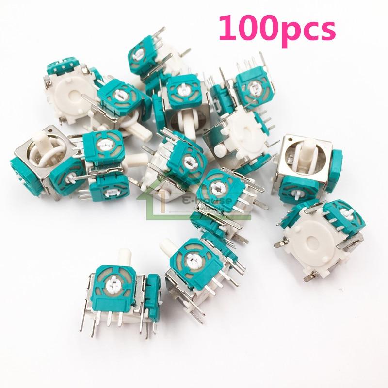 100pcs Wholesale 3Pin 3D Analog 3D Joysticks Sensor Module Potentiometer for Nintendo Game Cube for NGC