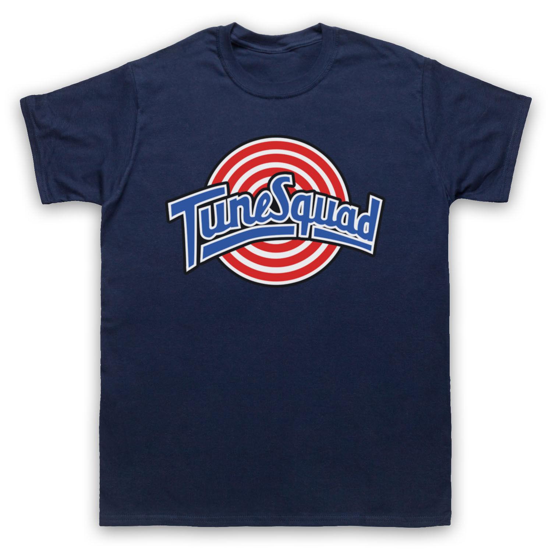 SPACE JAM неофициальный TUNE SQUAD Баскетбол мультфильм футболка взрослых О-образным вырезом Подростковая футболка на продажу новая мода лето