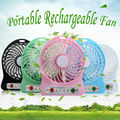 Free Shipping +Portable Small Cooler Fans Adjustable Speed Mini USB Cooling Fan Rechargeable for Laptop Notebook Computer PC