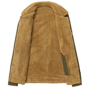 Мужская Флисовая Куртка dimsi, теплая армейская куртка с меховым воротником, 5XL,PA061