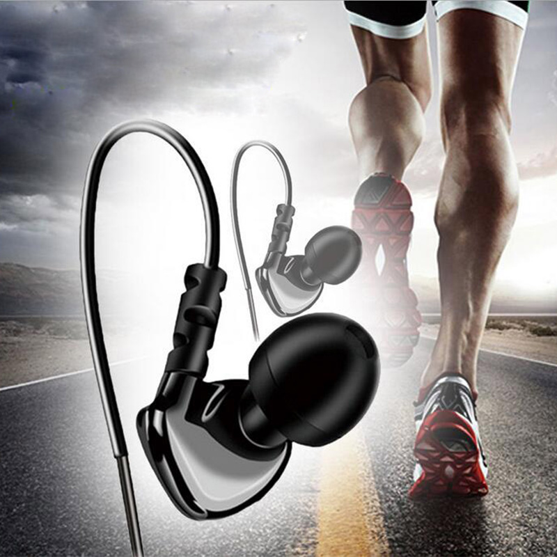 Sport running in ear earphones with mic line control mini light headset N/S switch universal for all cellphones free shipping yl in ear earphones w mic line control for samsung galaxy n7100 note 3 n9000 pink 112cm