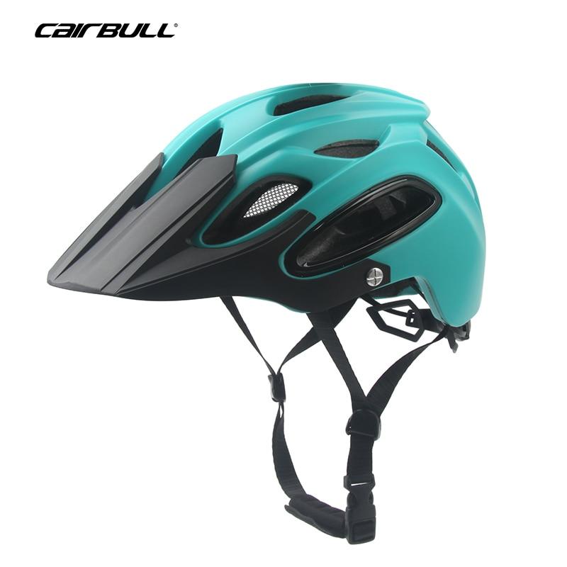 CAIRBULL Integralmente-moldado Capacete Da Bicicleta All-terraço Ciclismo MTB EPS Capacete de Segurança À Prova de Vento OFF-ROAD Mountain Bike cap 58-62 cm