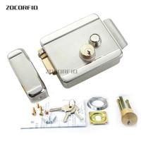 Fechadura eletrônica de controle de porta  chave dupla  fechadura eletrônica para porta  controle de acesso para escritório  interfone para telefone e porta