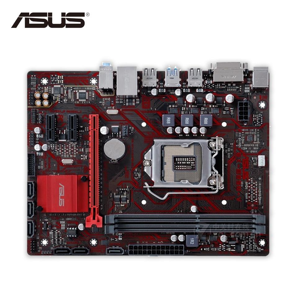 Asus EX-B85M-V Original Used Desktop Motherboard B85 Socket LGA 1150 i7 i5 i3 DDR3 16G SATA3 USB3.0 Micro-ATX tryp madrid centro ex tryp washington 3 мадрид