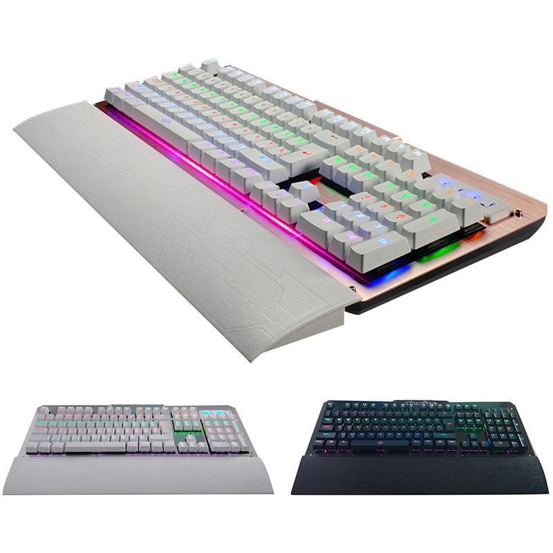 Cyan essieu métal clavier mécanique 104 touches clavier mécanique pour Internet Esport jeu spécial clavier K26 LOL CF
