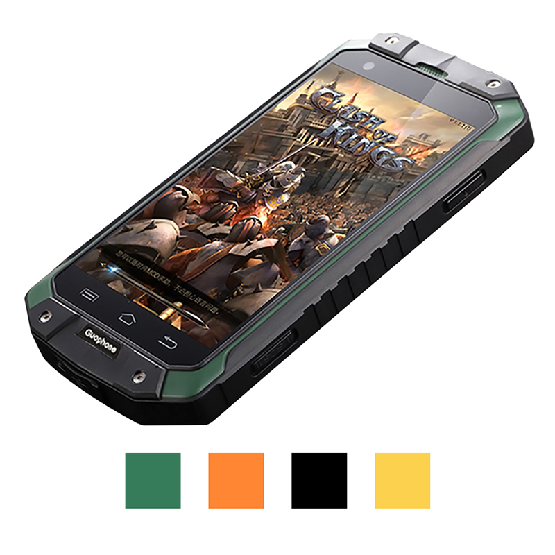 Guophone V9 smartphone 4 0 inch 1GB 8GB IP68 waterproof shockproof phone MTK6580 Quad Core GPS